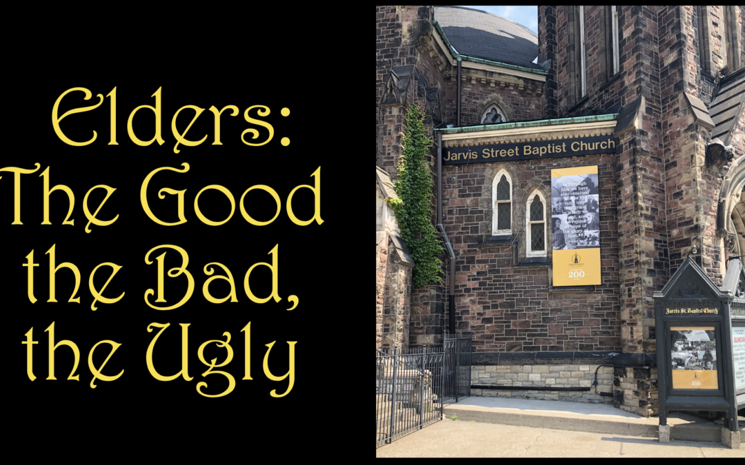 Elders: The Good, The Bad and the Ugly, Part One